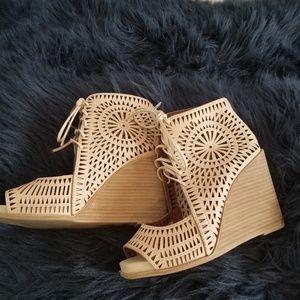 "Jeffrey Campbell ""Rodillo"" wedge sandals - Women's"